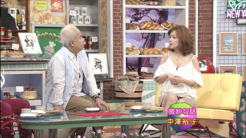 中澤裕子パンチラ