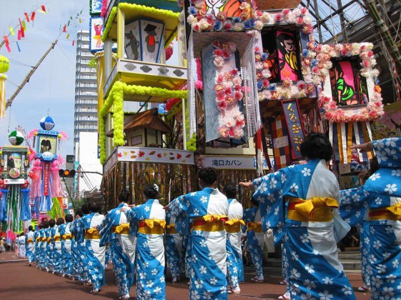 平塚七夕パレード2010&滝口カバン