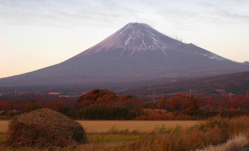 赤紫富士山