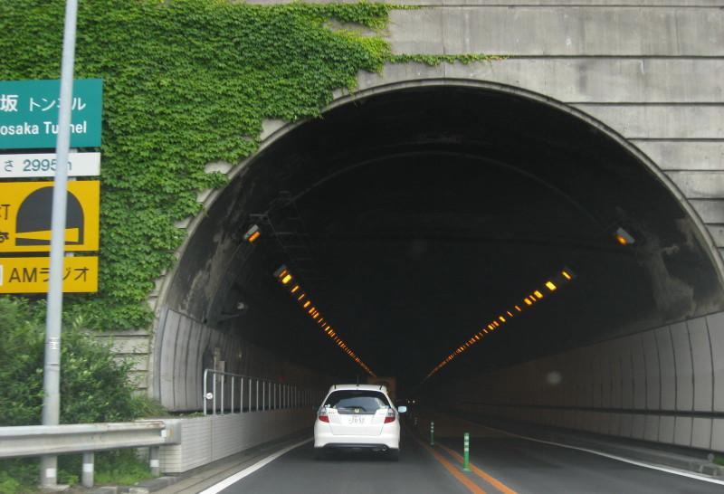 東富士五湖道路7篭坂トンネル