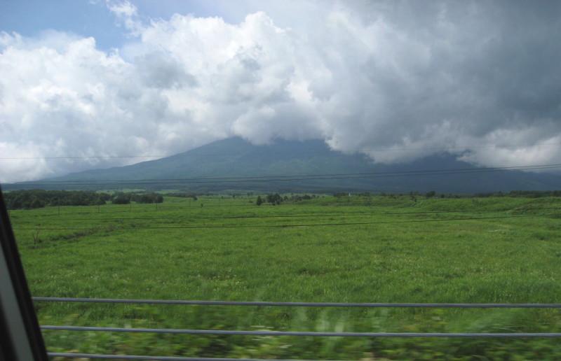 東富士五湖道路15北富士演習場と富士山
