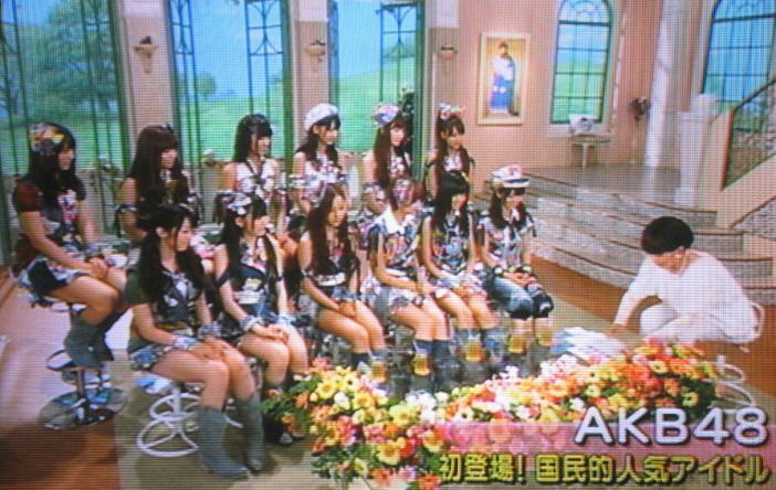 AKB48in徹子の部屋