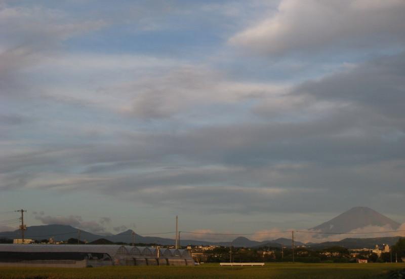 赤富士 平塚