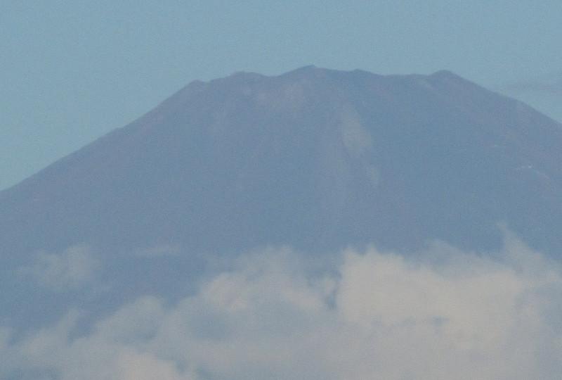 デジタル併用50倍ズーム 富士山の写真画像