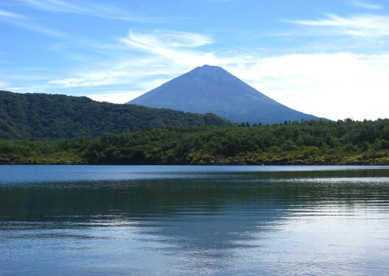 富士山 西湖 2009年9月