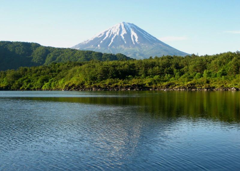 西湖富士山2007年6月