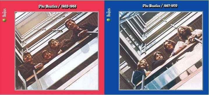 ビートルズ赤盤青盤リマスター画像 BEATLES/1962-1966 1967-1970
