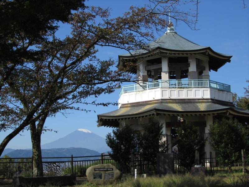 はだの市弘法山公園 権現山展望台 富士山