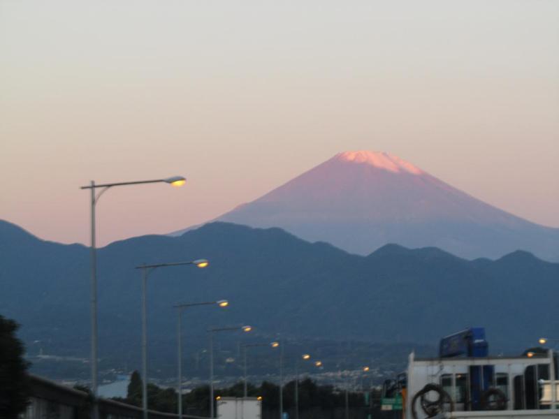 東名大井松田 富士山