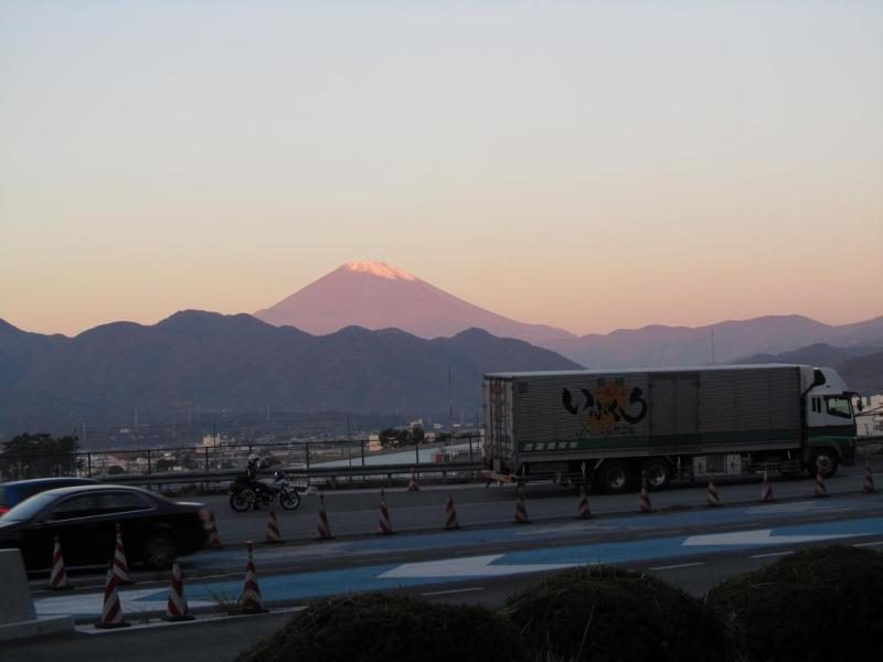 大井松田料金所 富士山