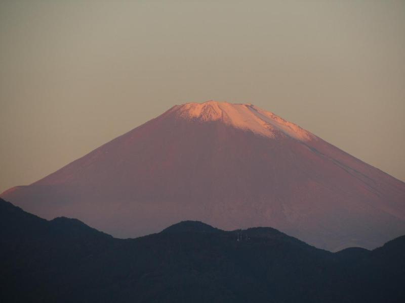 大井松田 富士山