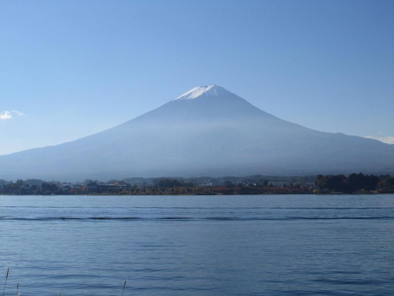河口湖 富士山 2010年11月6日