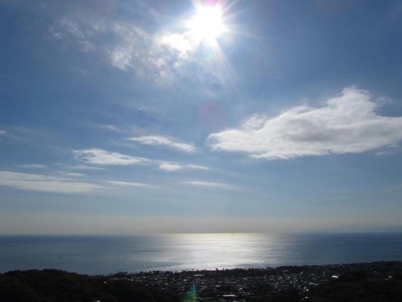 相模湾 太陽