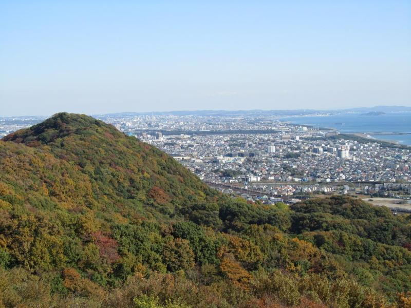 湘南平からの平塚市街