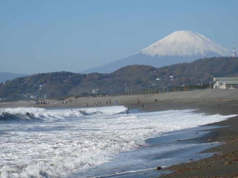 富士山 平塚海岸 湘南