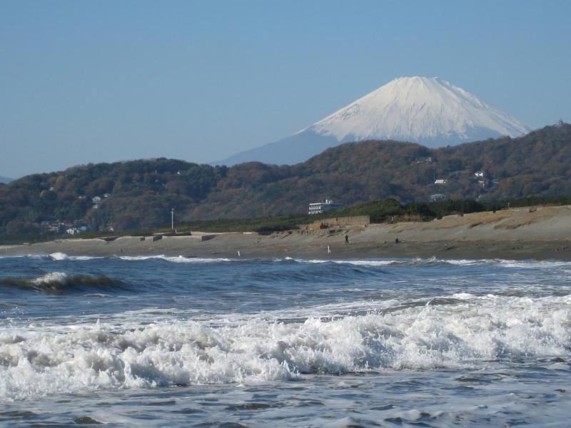 富士山 平塚海岸