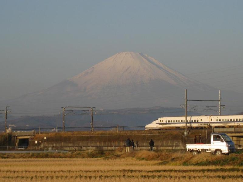 新幹線 富士山