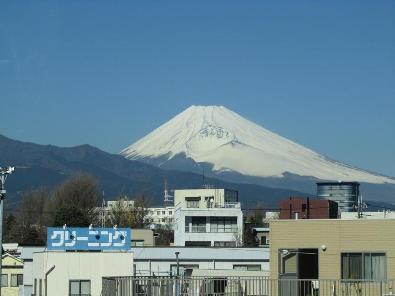 富士山画像 三島