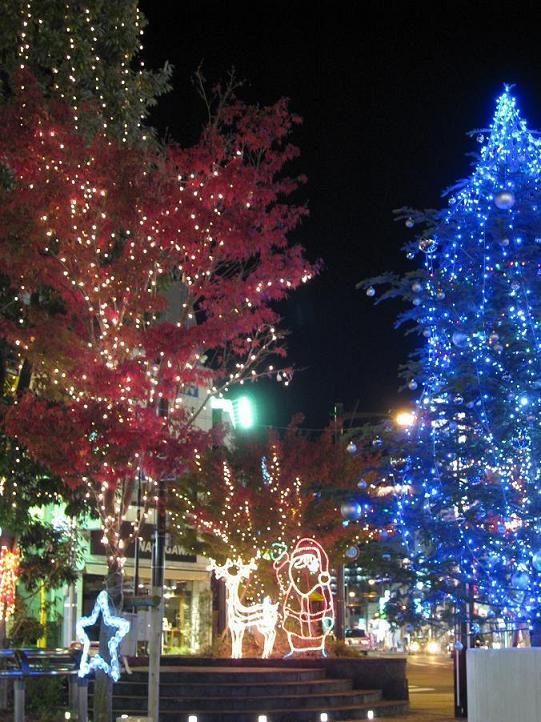 クリスマスイルミネーション画像 小田原駅