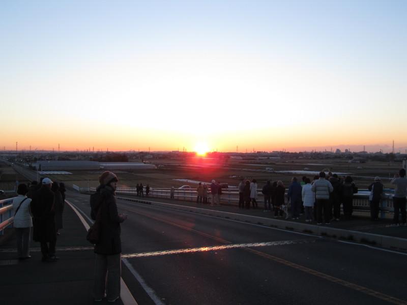 初日の出withギャラリー 2011年