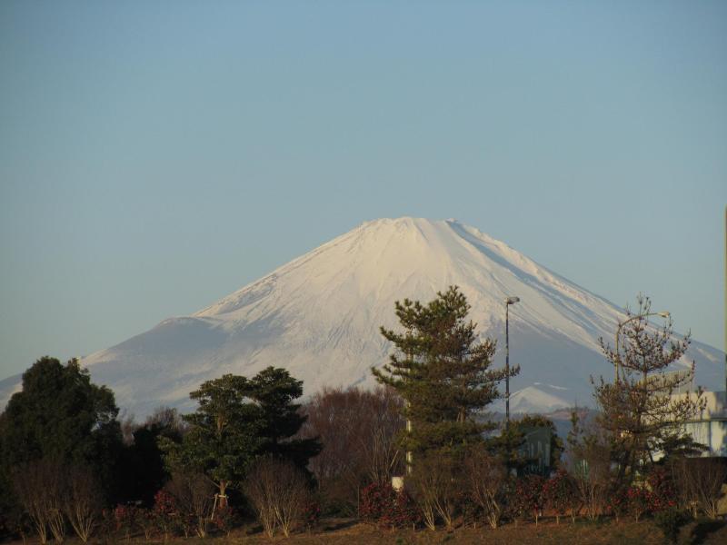 初富士山画像 2011年元旦