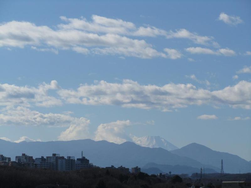 富士山画像 八王子市