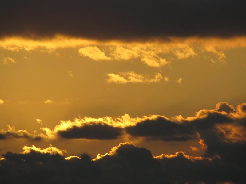 夕焼け雲画像