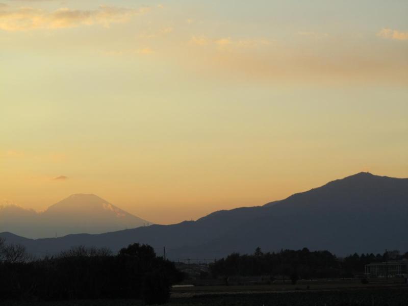 富士山画像 神奈川県綾瀬市