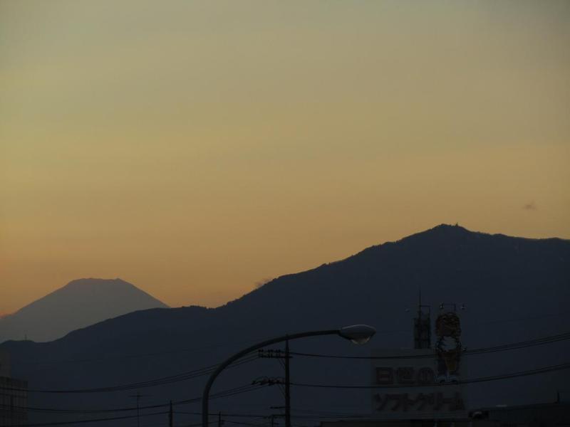 富士山画像 綾瀬