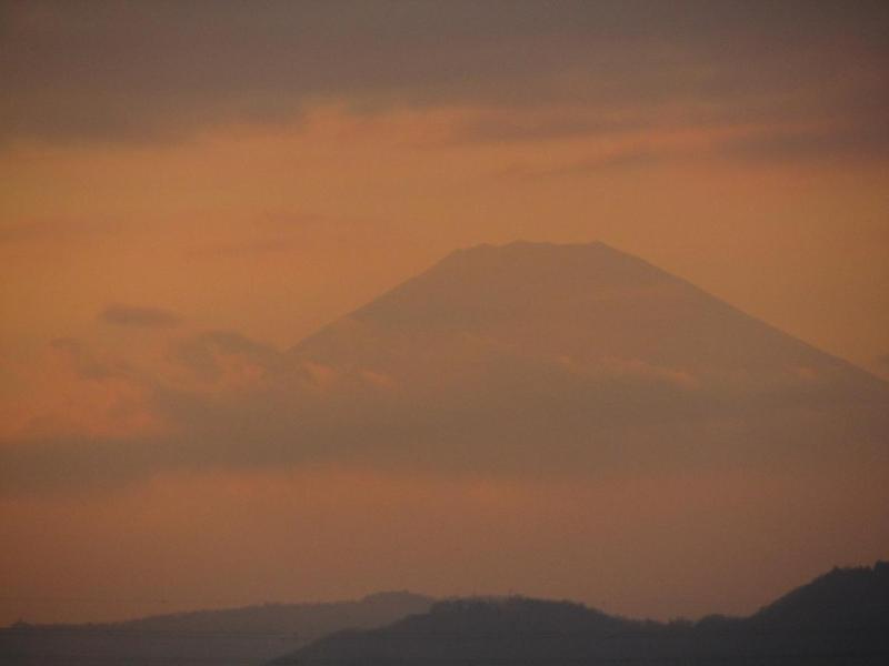 富士山 夕焼け