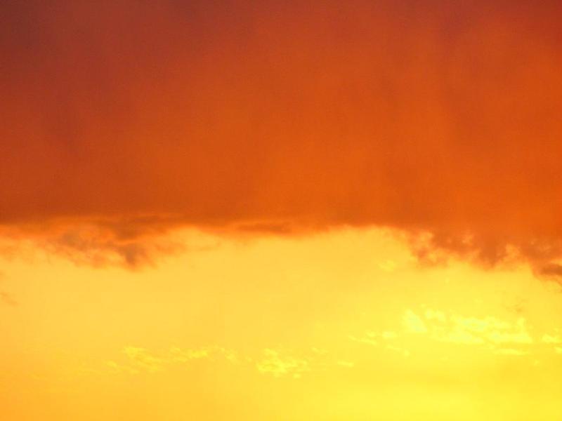 夕焼け雲写真 画像
