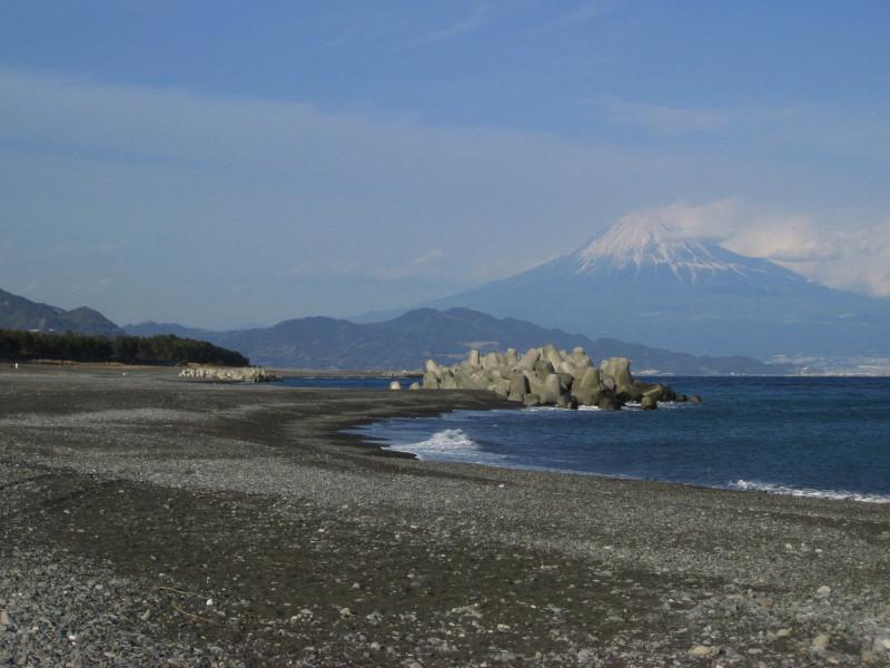 清水三保松原 富士山