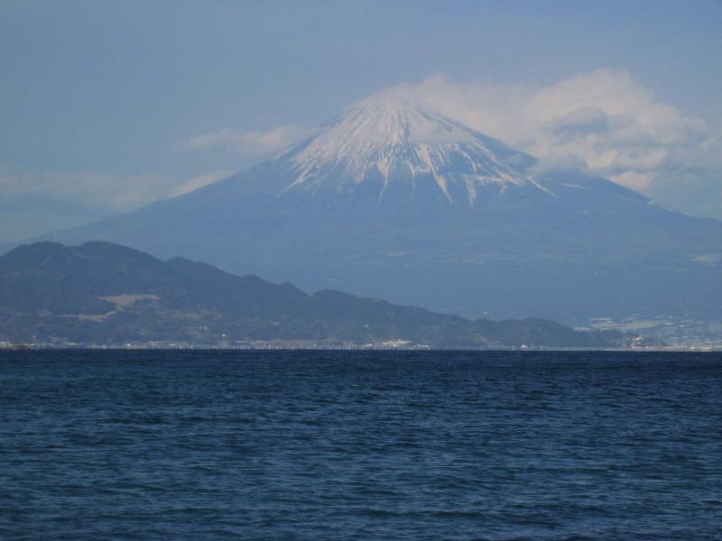 海と富士山 清水三保