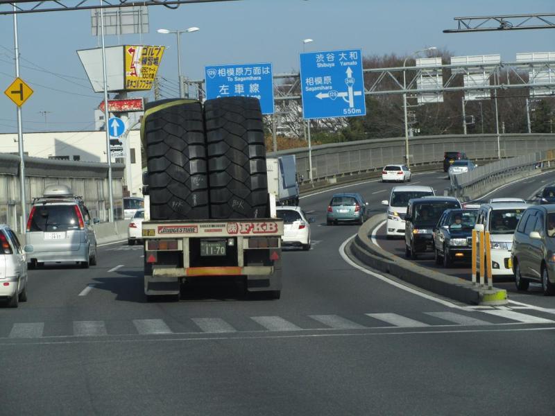 巨大タイヤ