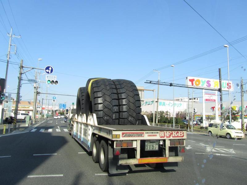 大きいタイヤ