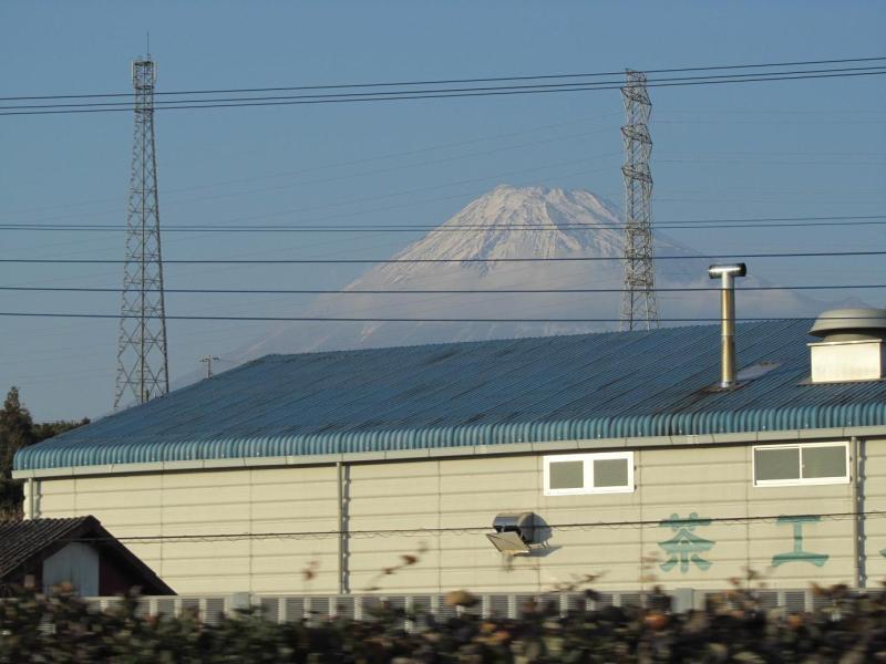 富士山 富士お茶工場