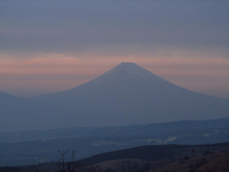 富士山 熱海峠付近