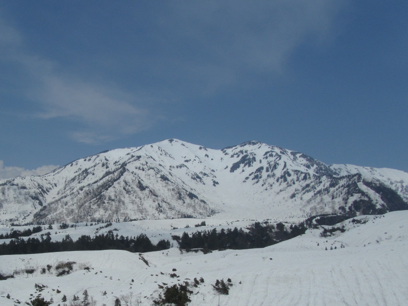 立山山岳道路 車窓風景