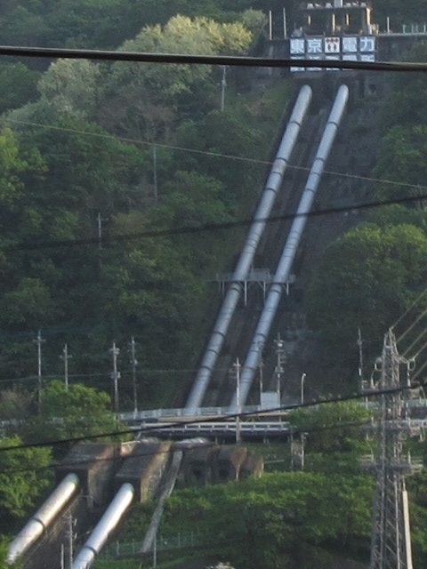 東京電力 駒橋発電所 大月市