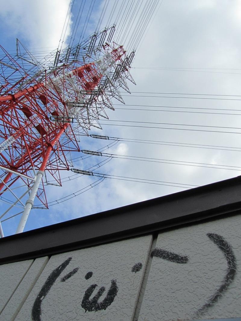 鉄塔 (´・ω・`)