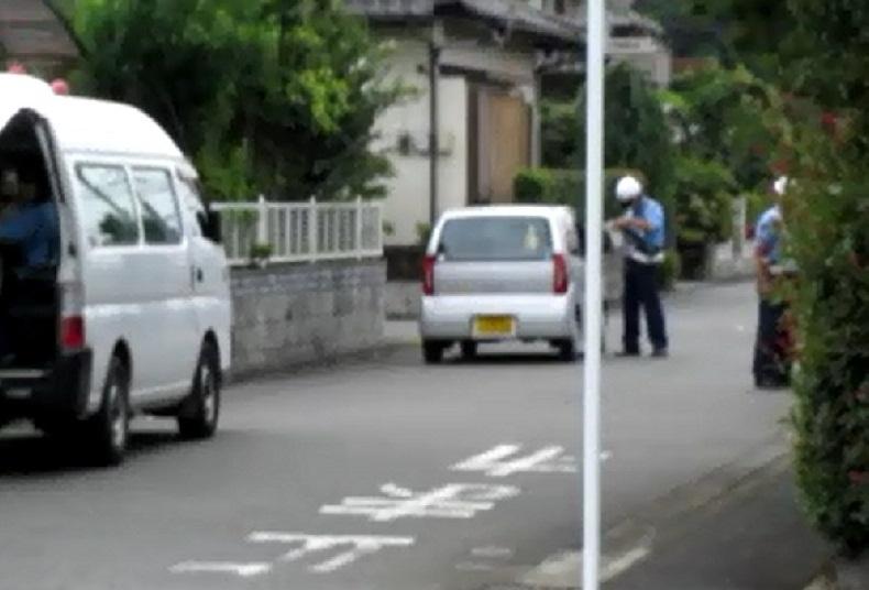 ネズミ捕り 相模原市田名 神奈川県警