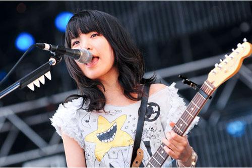 チャットモンチー橋本絵莉子(はしえり ギター