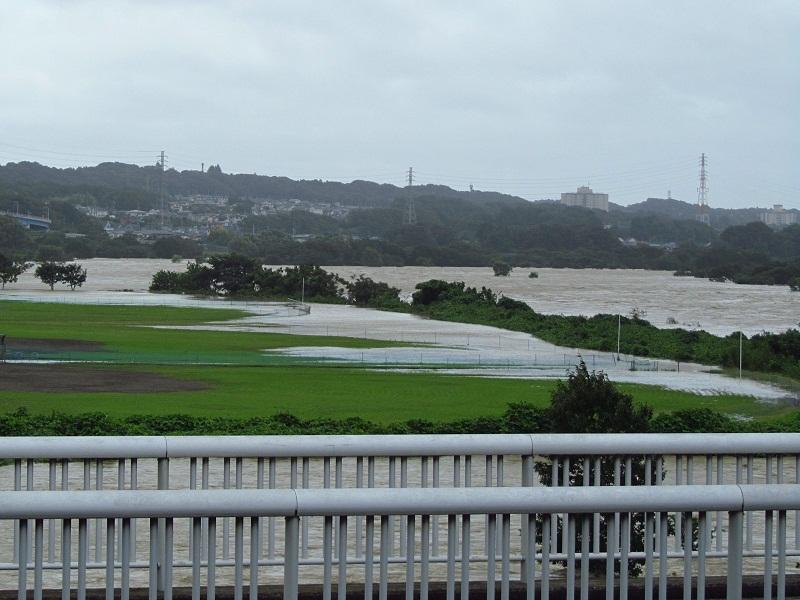 相模川 増水